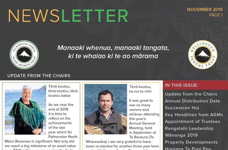 WTT & PNMRT Newsletter – November 2019